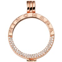 Pendant Rosegold-plated Deluxe M
