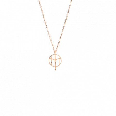 Mockberg Necklace Rose gold Small