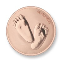 Baby feet-te quiero rosegold-plated S