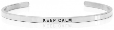 Daniel Sword Armring - Keep Calm - Stål