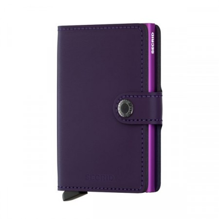 Miniwallet Purple Matt