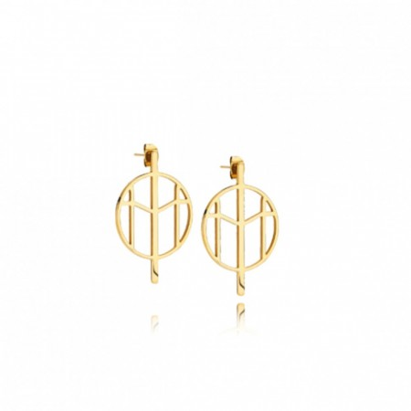 Mockberg Earrings Gold Small