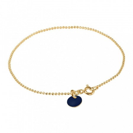 Bracelet ball chain Midnight