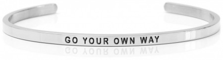 Daniel Sword Armring - Go your own way - Stål
