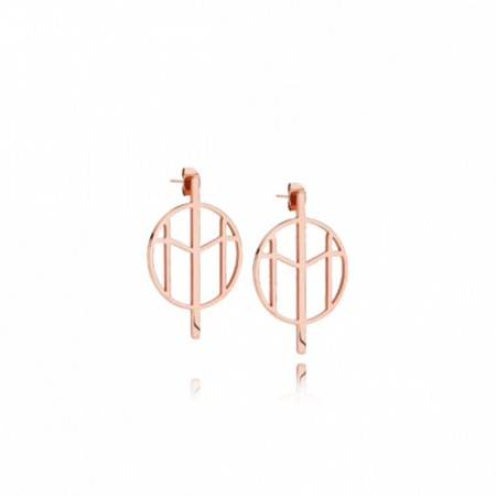 Mockberg Earrings Rose gold Small