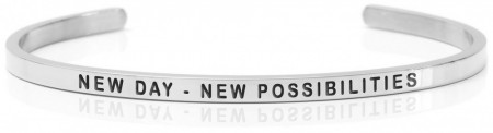 Daniel Sword Armring - New day - New possibilities - Stål