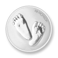 Baby feet-te quiero silver-plated M