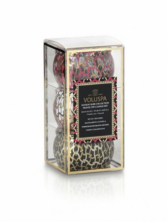 Voluspa, Maison Noir Travel Set