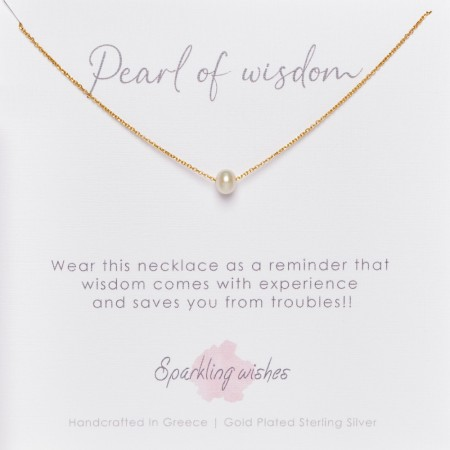 Sparkling wishes Pearl of wisdom