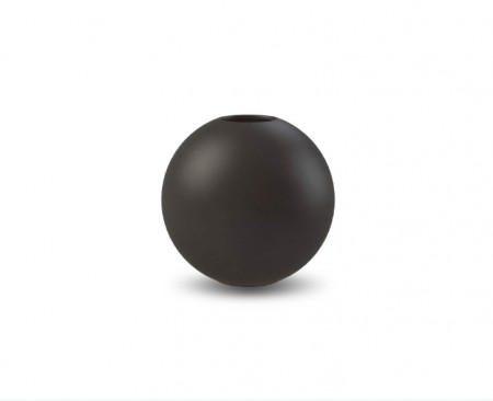 Ball vase Black 10 cm