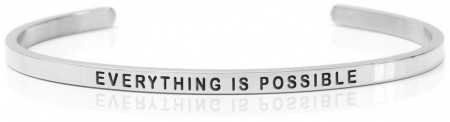 Daniel Sword Armring - Everything is possible - Stål