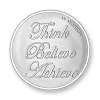 Blessed-Believe silver-plated L