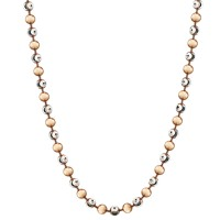 Necklace Alegre Silver Rosegold-plated 80cm